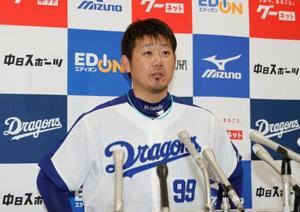 オールスター戦にファン投票で選出された中日・松坂=ナゴヤドーム