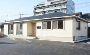 建て替えられた九州北部税理士会佐賀支部の会館=佐賀市八幡小路