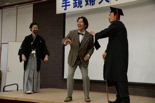 演劇で歴史に親しみを おもてなし隊代表・青柳達也さん