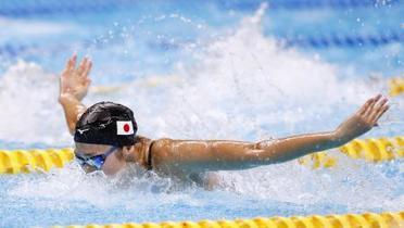 ア大会、競泳池江が2種目で優勝