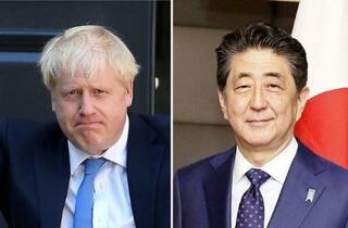 コロナ対策、日英の緊密協力確認