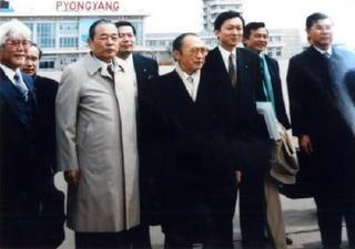 第8章 激動の自民党(87)平壌訪問団出発