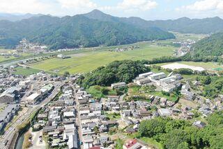 <空さんぽ 学校のある風景(37)>塩田工業高校・嬉野高校塩田校舎周辺