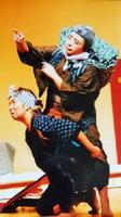 にわかフェスティバルに出演する「はっぴぃ(ハート)かむかむ」