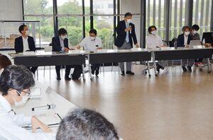 防災減災対策を考える県内地域防災研究連絡会議の初会合=佐賀市の佐賀大本庄キャンパス