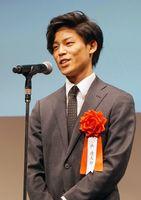 TYO学生ムービーアワードで金賞に輝いた西遼太郎さん=東京都の恵比寿ガーデンルーム