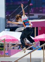 スケートボード堀米が金メダル