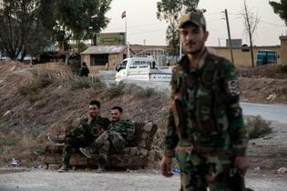 シリア政権軍、国境に進軍