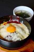 石焼チーズビビンバ 870円+税 スープが付く