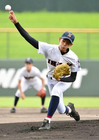 <SSP杯高校野球>伊万里・エース長尾が躍動