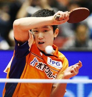全日本卓球、張本らが準決勝進出