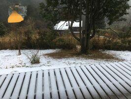 雪は大地に染みこみ、貴重な地下水となる