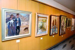 30回の節目となった絵画グループ「虹の会」の絵画展