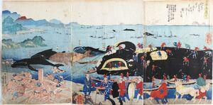 歌川国芳「日本名産尽」(1835~39年)