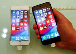 米アップルのスマートフォン「iPhone(アイフォーン)」(ロイター=共同)