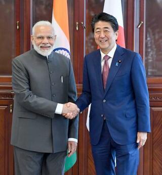 安倍首相、12月インド訪問へ