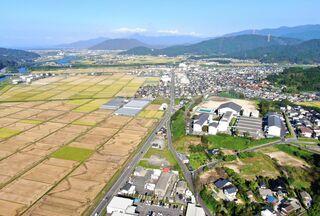 <空さんぽ 学校のある風景(39)>唐津工業高校周辺