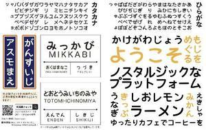 静岡大の杉山岳弘教授らが公式ウェブページに公開している「天浜線フォント」