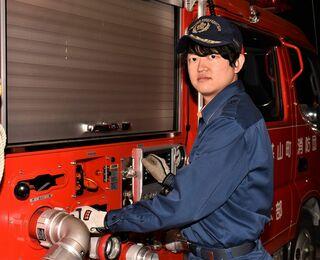 頑張る若手団員(16) 中川雄樹さん(基山町消防団第9部)