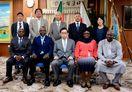 日本のコメ作り学ぶ カメルーン政府担当者