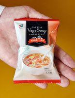 JAさがが開発、販売するフリーズドライのトマトスープ