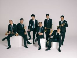 大野雄二(中央)率いる「Yuji Ohno & Lupintic Six」