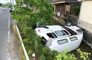 川副町送迎車事故 運転手の男に禁…