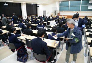 最後のセンター試験開始 県内34…