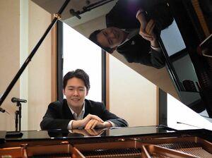 若手ピアニストの大野紘平さん