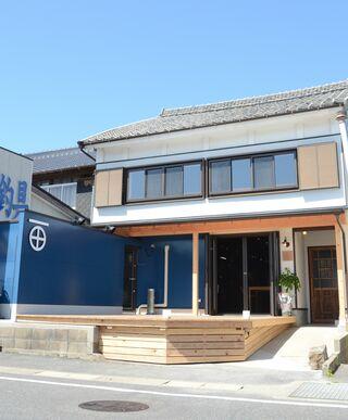町屋を改装した宿&カフェ