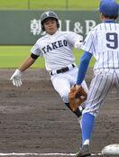 <高校野球>武雄、足絡めコールド勝ち