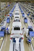 中国・武漢にあるホンダの自動車工場=5月(共同)
