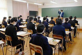 県立高一般選抜入試始まる 4日ま…