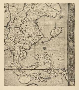 メルカトルの世界地図を初公開