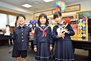 ぺーぱワイド 低学年の部で2人受賞 ホンダ次世代アイディアコン