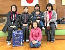 第57回ミニバレーボール交流会 女子B優勝のラフ