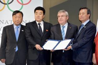 北朝鮮が平昌五輪に22選手派遣
