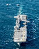 空自F35Aが米揚陸艦と訓練