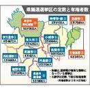 10選挙区無投票か 3月告示の佐賀県議選