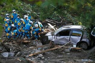台風死者、12都県73人に