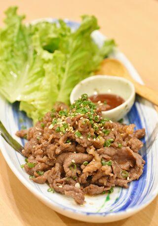 レシピ「野菜と食べるプルコギ」
