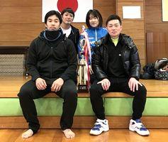 第57回ミニバレーボール交流会 男子優勝のSKINS