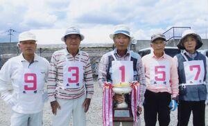 江頭仏壇杯近隣GB大会優勝の神埼チーム