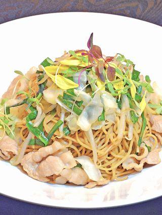 レシピ「上海風やきそば」