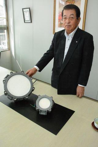 防爆のLED照明開発