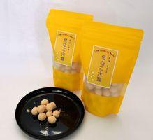 ホワイトデー限定パッケージで発売した「美味しすぎる きなこ大豆」