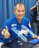 日本人宇宙飛行士の野口聡一さん