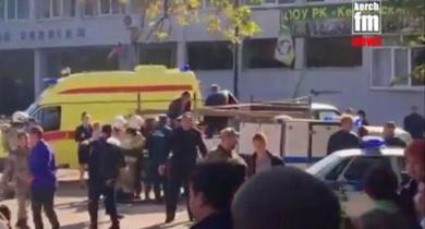 クリミアで乱射、19人死亡