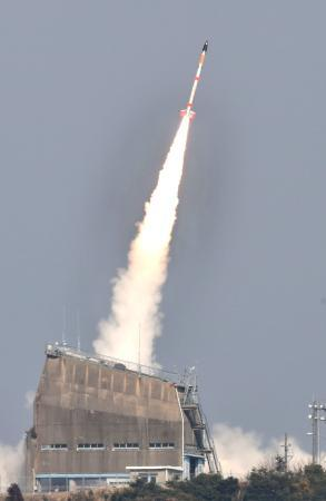 JAXA、電柱ロケット初成功