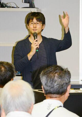 太陽系の謎語る 京都大学・佐々木助教(唐津出身)